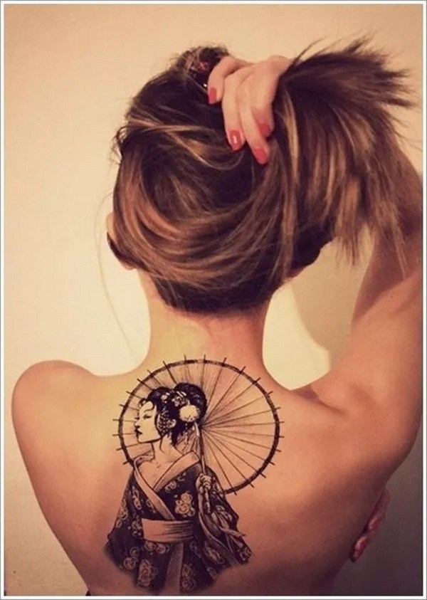 38 Awesome Back Tattoo for Women