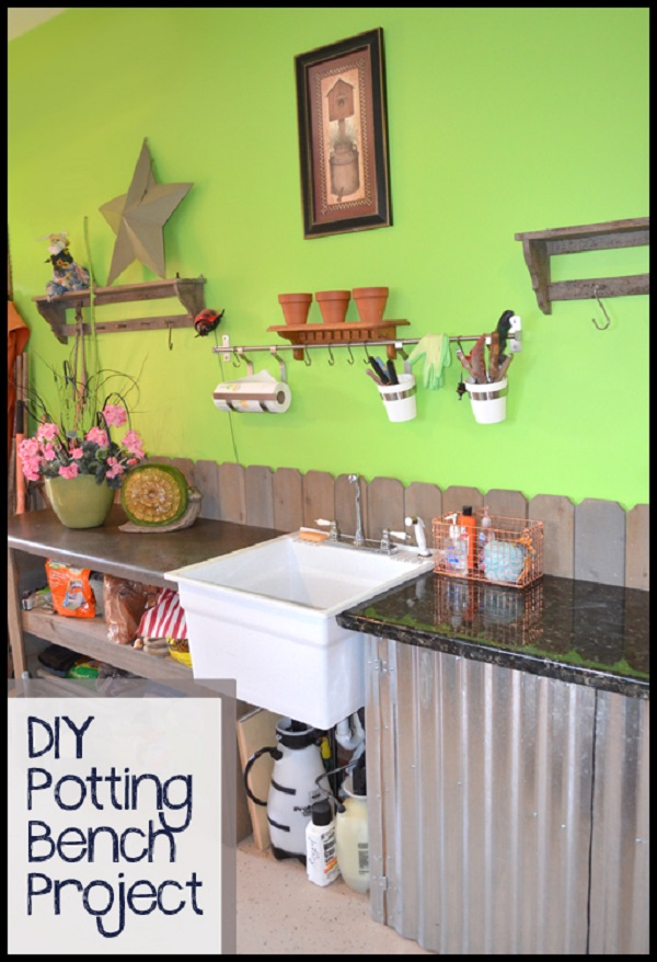 10 DIY Potting Bench Ideas To Make Gardening Work Easier