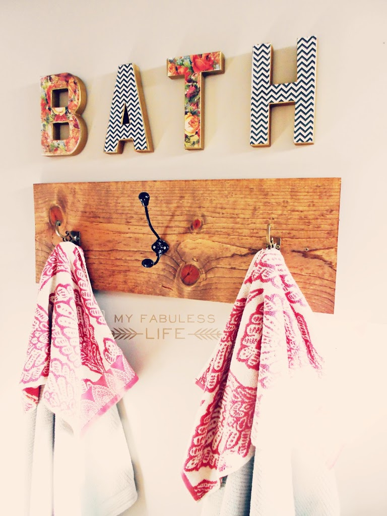 11 Awesome DIY Towel Holders to Spruce Up Your Bath