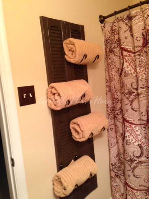 5 Awesome DIY Towel Holders to Spruce Up Your Bath
