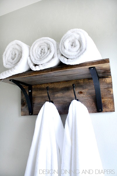 7 Awesome DIY Towel Holders to Spruce Up Your Bath