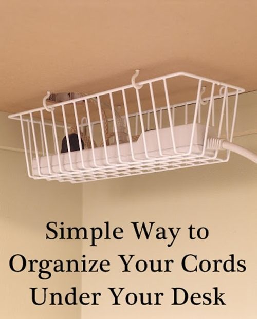 2 DIY Cord Organizers That Will Keep Your Home Clean