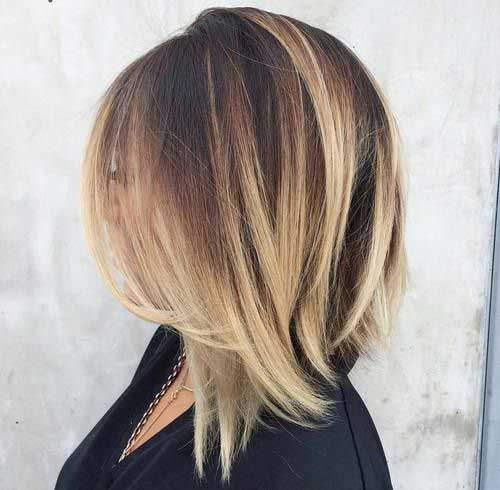 1 Color For Short Hair