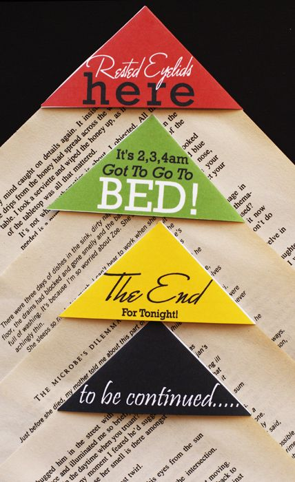 1 Easy Ideas to DIY Bookmarks