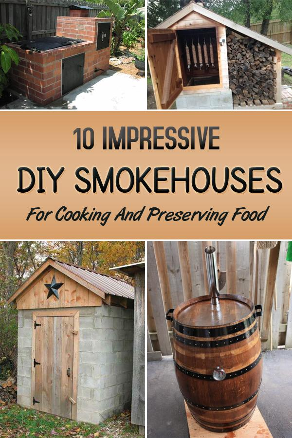 1 Impressive DIY Smokehouses For Cooking And Preserving Food