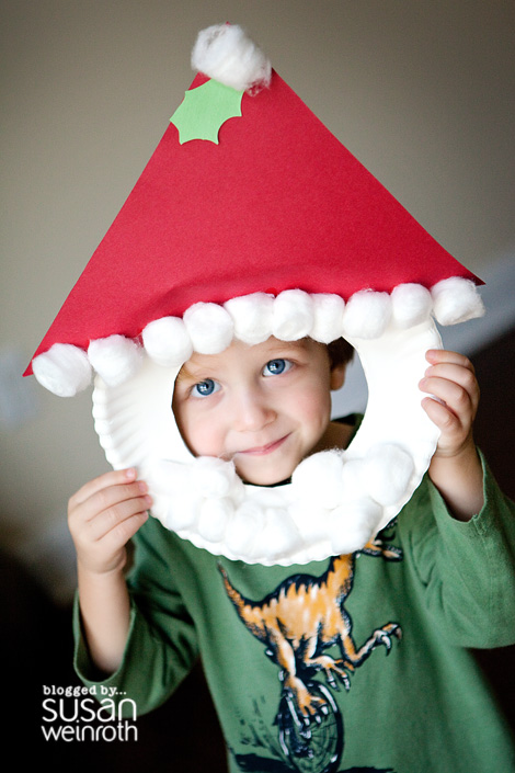 1 Incredibly Cute Paper Plate Christmas Crafts