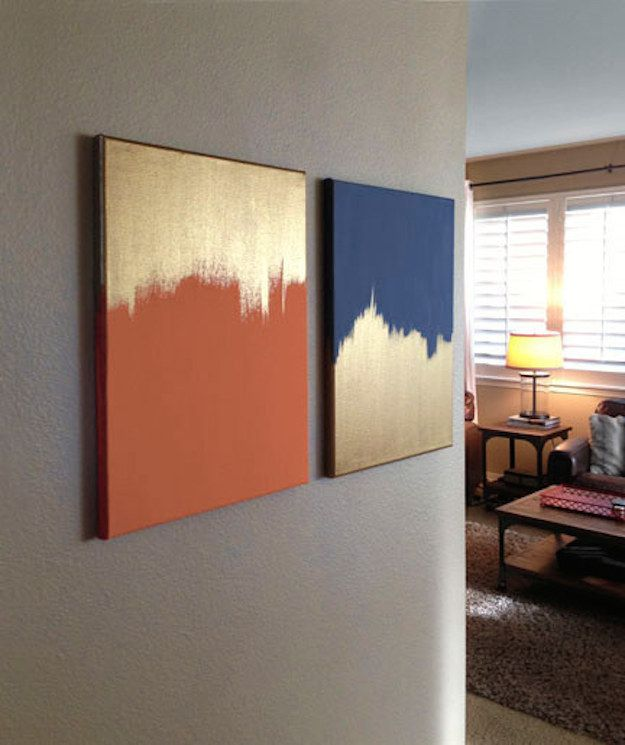 10 DIY Painting Ideas for Wall Art