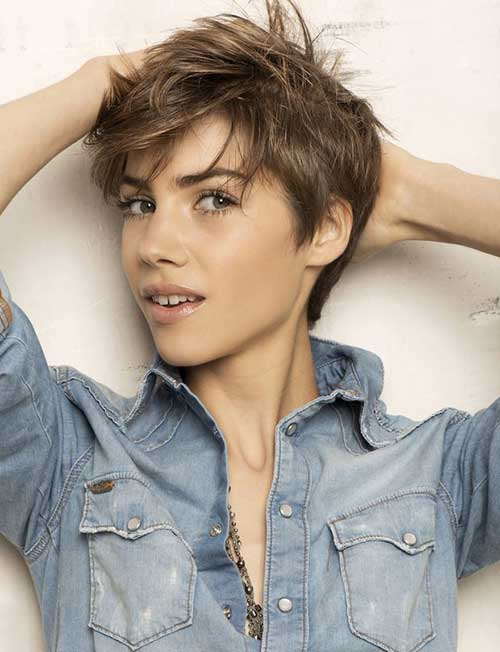 10 Super Short Hair Cut Styles