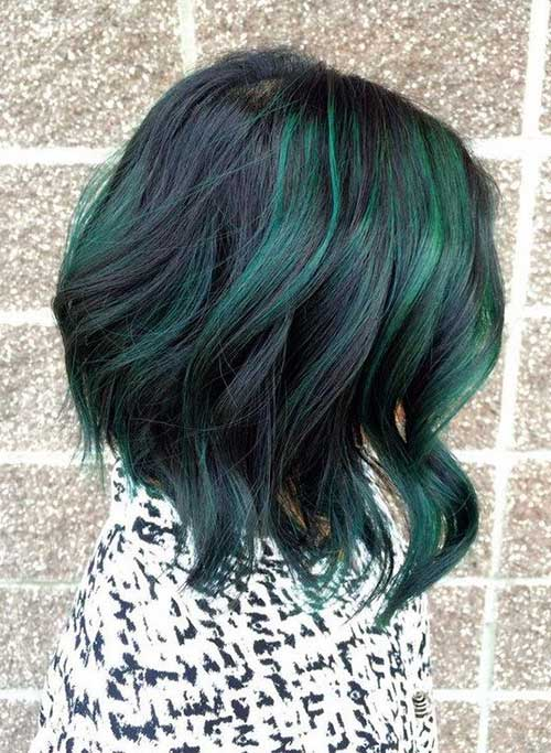11 Color For Short Hair