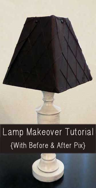 11 DIY Projects to Give Lamp Makeovers