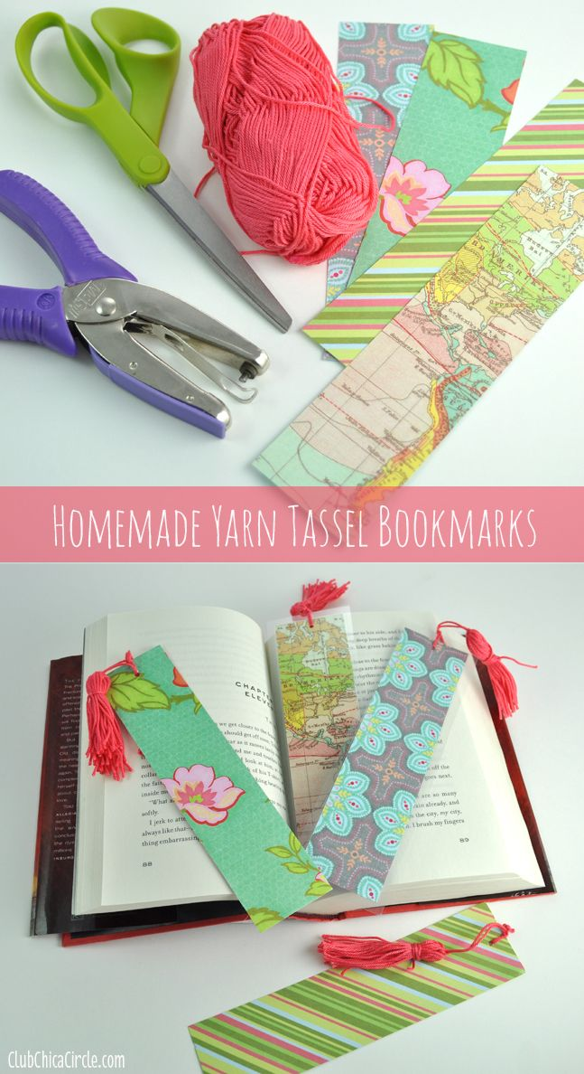 12 Easy Ideas to DIY Bookmarks