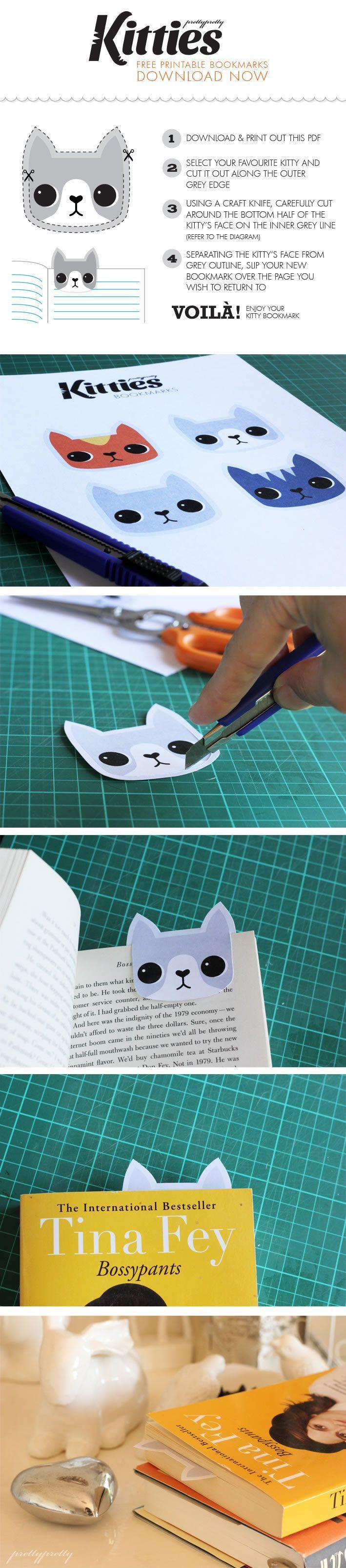13 Easy Ideas to DIY Bookmarks