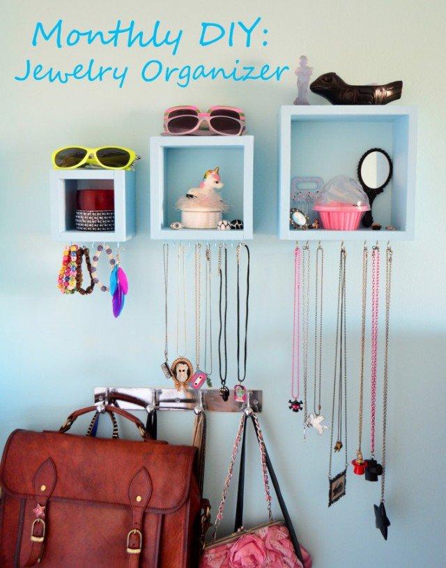 14 Great DIY Jewelry Organizer Ideas