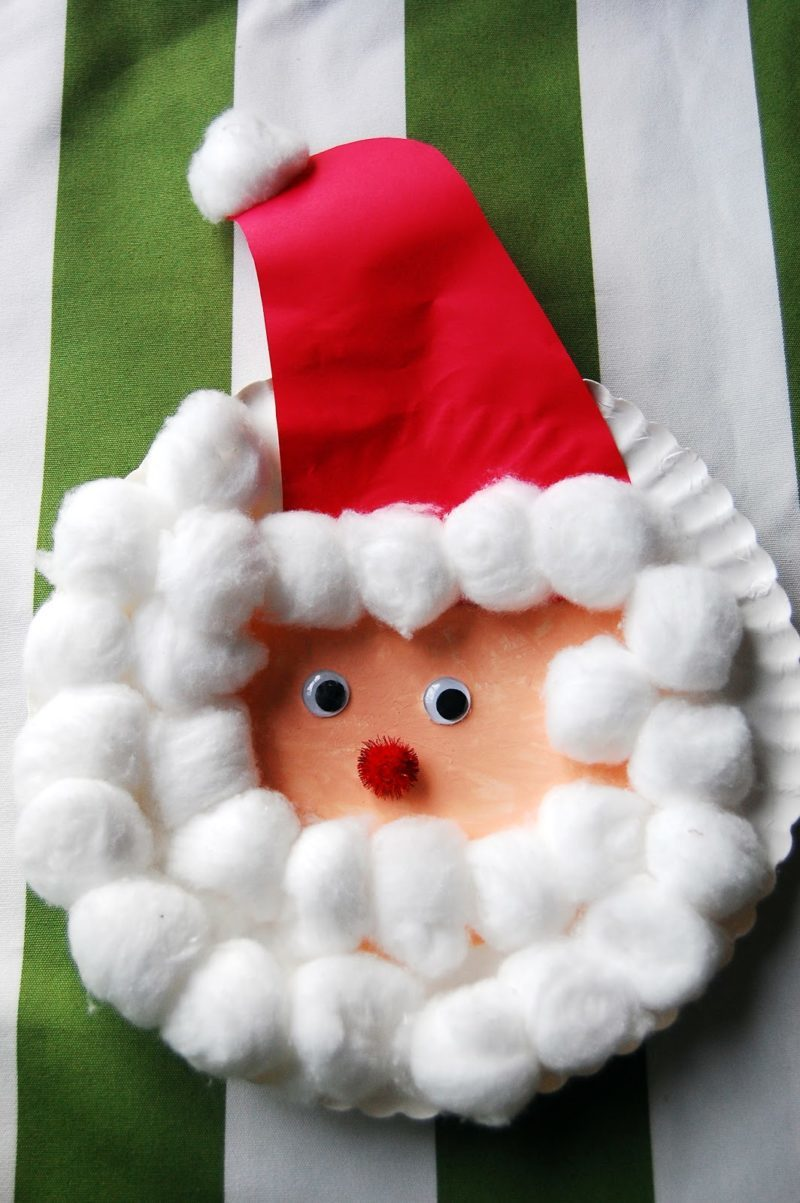 14 Incredibly Cute Paper Plate Christmas Crafts