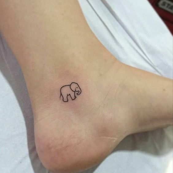 15 Tiny Ankle Tattoos That You Can Copy