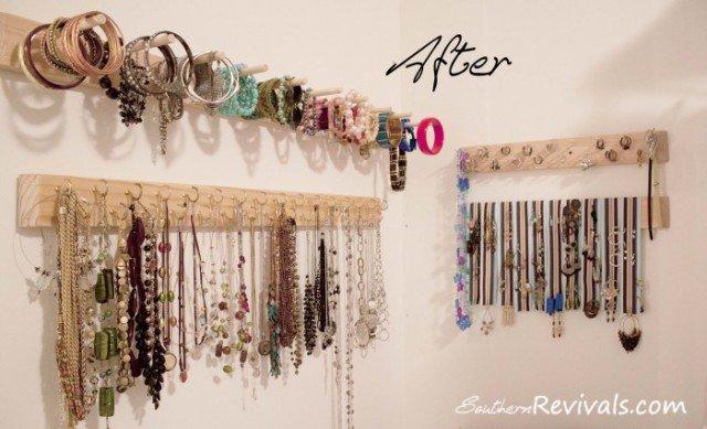 17 Great DIY Jewelry Organizer Ideas