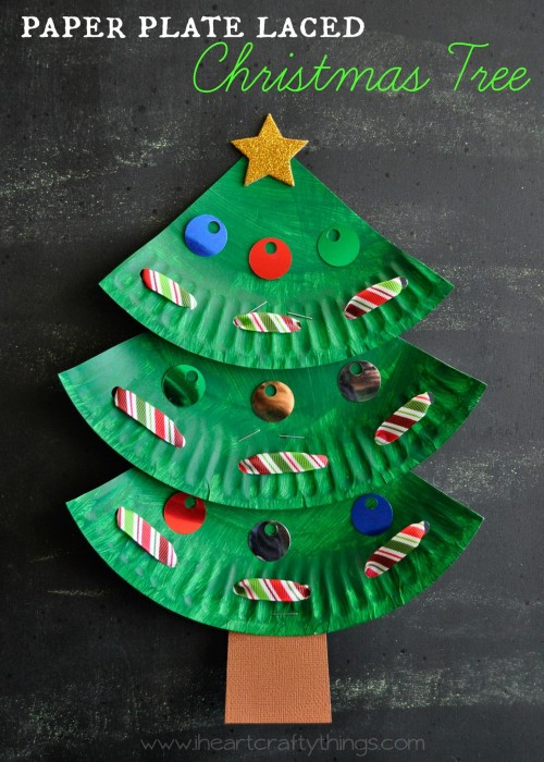 17 Incredibly Cute Paper Plate Christmas Crafts