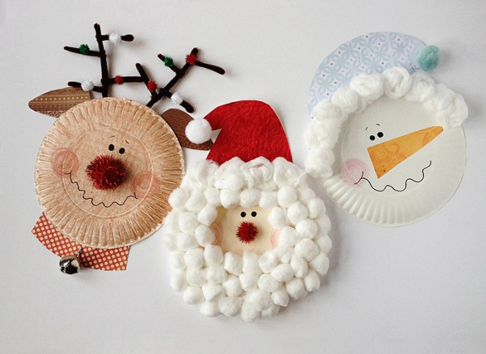 19 Incredibly Cute Paper Plate Christmas Crafts