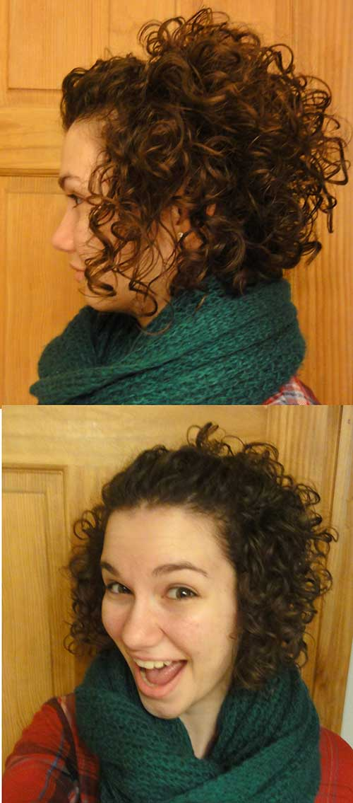 2 Cute Short Haircuts For Curly Hair