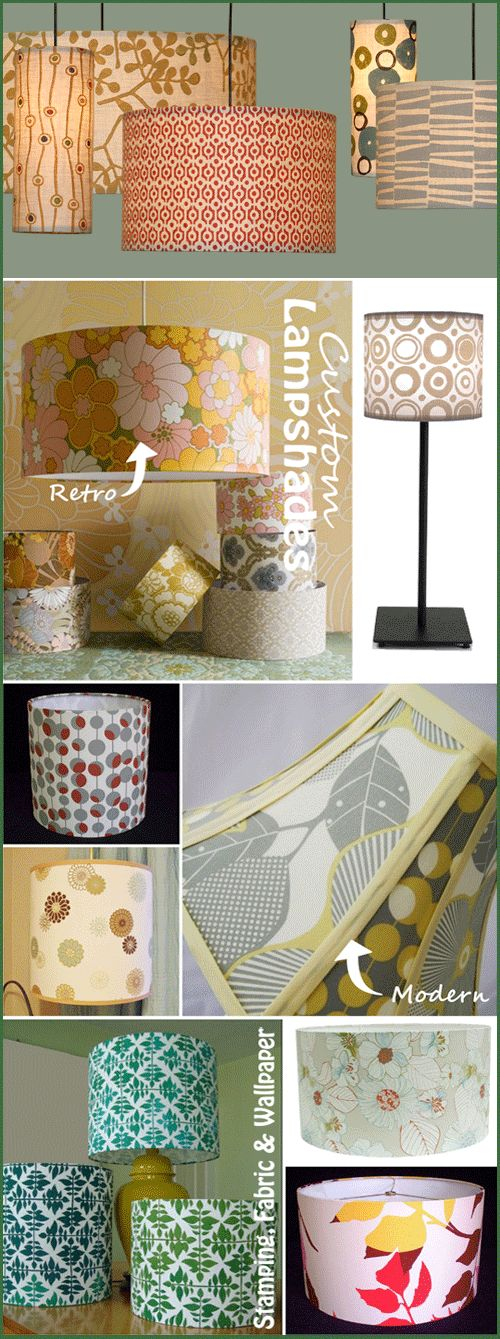 2 DIY Projects to Give Lamp Makeovers