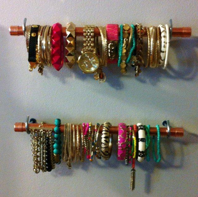 2 Great DIY Jewelry Organizer Ideas