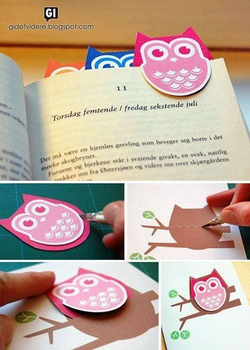 21 Easy Ideas to DIY Bookmarks