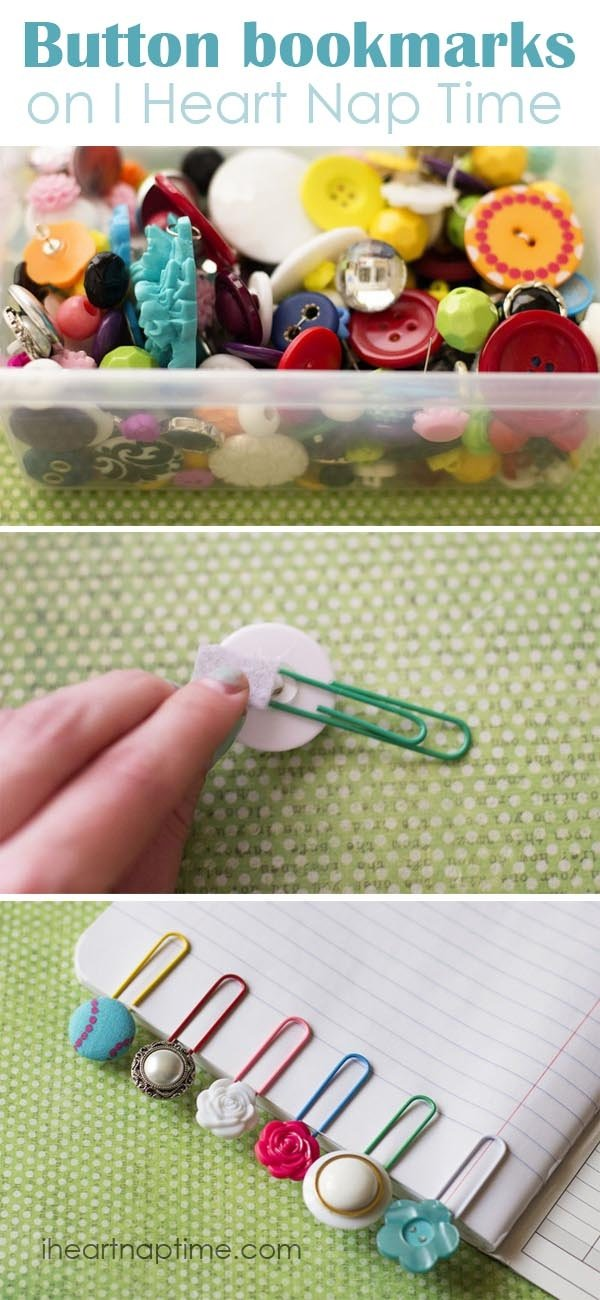 23 Easy Ideas to DIY Bookmarks