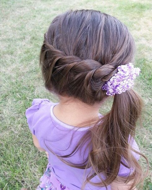 23 Super Cute Hairstyles For Little Girls