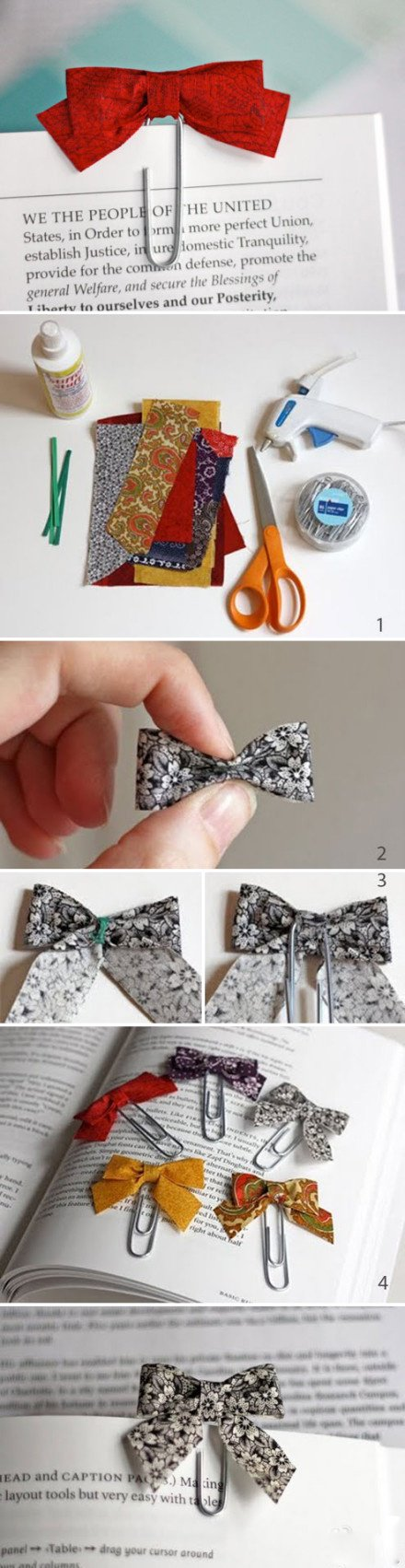 26 Easy Ideas to DIY Bookmarks