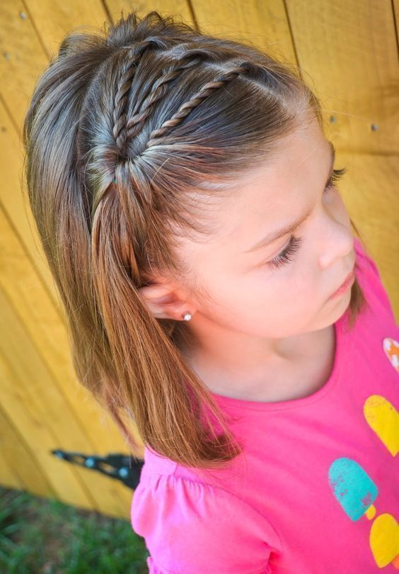 28 Super Cute Hairstyles For Little Girls