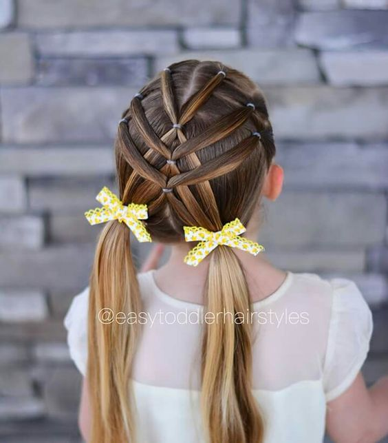 29 Super Cute Hairstyles For Little Girls
