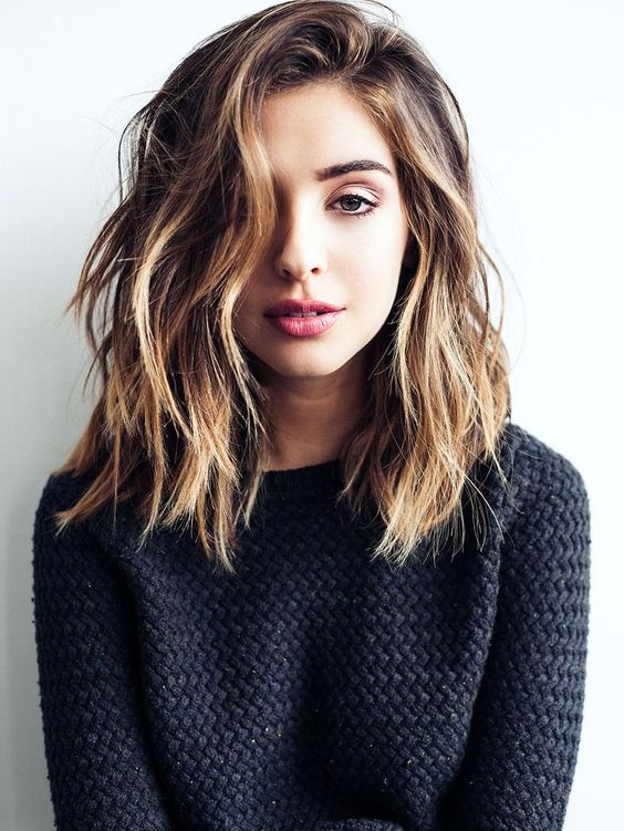 39 Most Trendy and Easy Medium length Hairstyles That We Can not Wait to Try