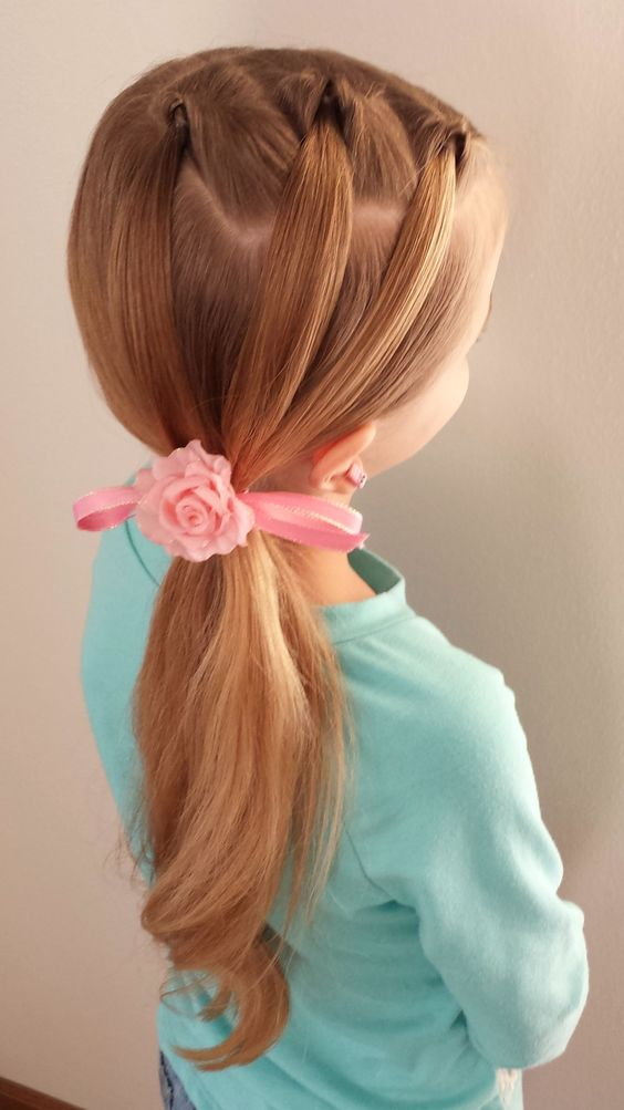 4 Super Cute Hairstyles For Little Girls