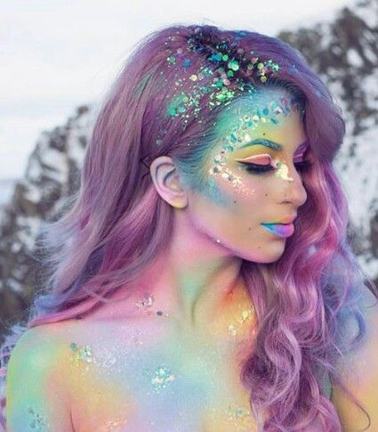 45 Mermaid Hairstyle Design and Hair Color for Prom