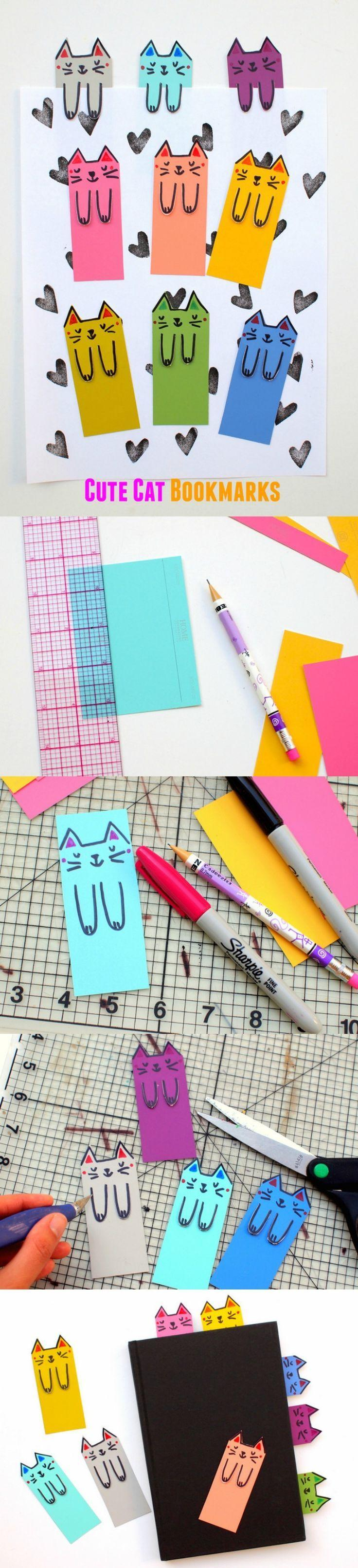 5 Easy Ideas to DIY Bookmarks