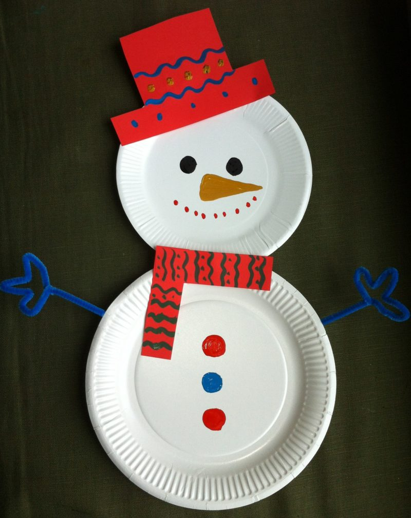 Paper Plate Christmas Crafts.36 Cute Paper Plate Crafts For Christmas Page 5 Foliver Blog