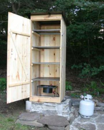 7 Impressive DIY Smokehouses For Cooking And Preserving Food