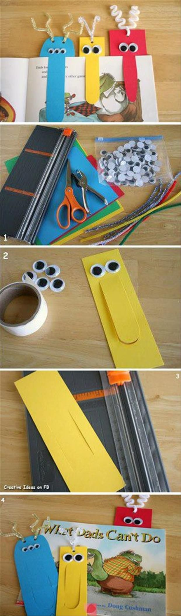 8 Easy Ideas to DIY Bookmarks