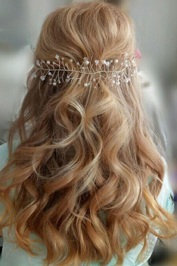 Bridal Hairstyles for Perfect Big Day 23
