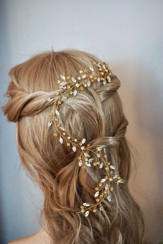 Bridal Hairstyles for Perfect Big Day 24
