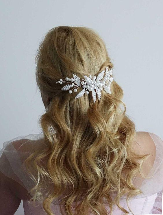 Bridal Hairstyles for Perfect Big Day 25