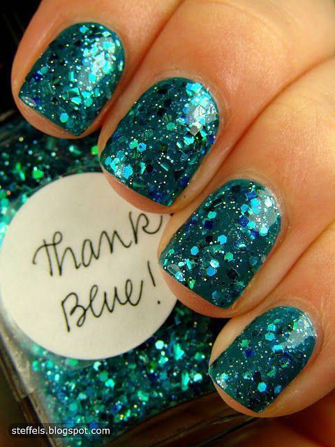 Elegant Emerald Green Nails Designs For You 2