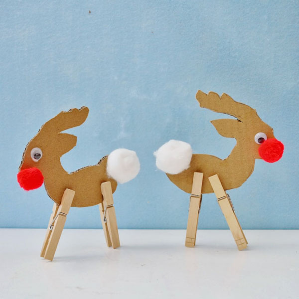 10 One-Hour Christmas Crafts