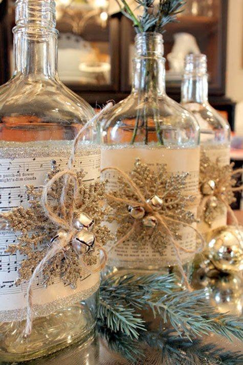 28 Cool Diy Wine Bottle Christmas Craft Ideas Page 9 Foliver Blog