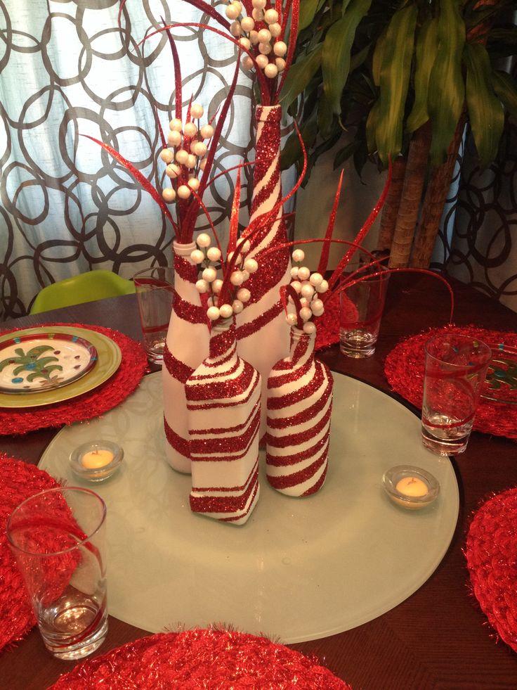 11 Wine Bottle Christmas Craft Ideas