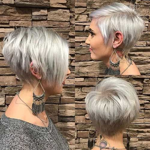12 Easy and Cute Short Hairstyles For Round Face