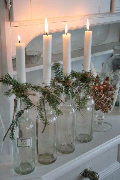 13 Wine Bottle Christmas Craft Ideas