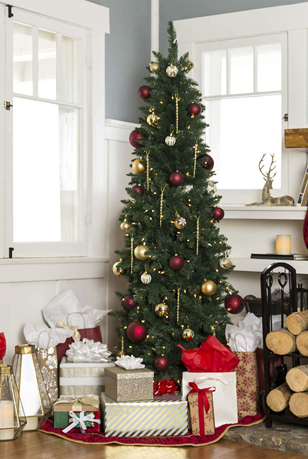 14 Artificial Pencil Christmas Tree