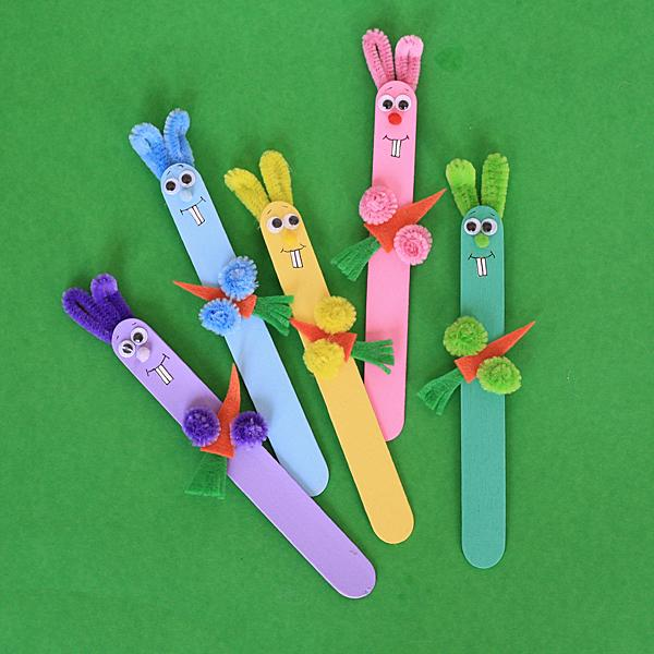 14 Super Cute Bunny Crafts for Kids to Make