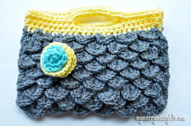 15 Free Crochet Purse  and  Bag Patterns